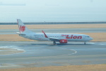FRTさんが、中部国際空港で撮影したタイ・ライオン・エア 737-8GPの航空フォト(飛行機 写真・画像)