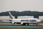 demodori6さんが、成田国際空港で撮影したウエスタン・グローバル・エアラインズ 747-446(BCF)の航空フォト(飛行機 写真・画像)