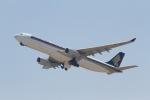344さんが、関西国際空港で撮影したシンガポール航空 A330-343Xの航空フォト(写真)