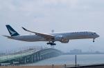 ⚓ほそっち⚓さんが、関西国際空港で撮影したキャセイパシフィック航空 A350-1041の航空フォト(写真)