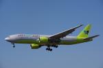 JA8037さんが、成田国際空港で撮影したジンエアー 777-2B5/ERの航空フォト(写真)