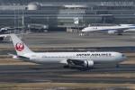 RYO13さんが、羽田空港で撮影した日本航空 767-346の航空フォト(写真)