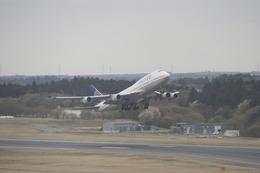 かんちゃんさんが、成田国際空港で撮影したユナイテッド航空 747-422の航空フォト(飛行機 写真・画像)