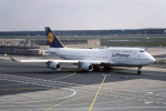 Gambardierさんが、フランクフルト国際空港で撮影したルフトハンザドイツ航空 747-430の航空フォト(写真)