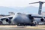 ファントム無礼さんが、横田基地で撮影したアメリカ空軍 C-5M Super Galaxyの航空フォト(写真)