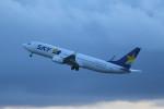 kuro2059さんが、新千歳空港で撮影したスカイマーク 737-86Nの航空フォト(写真)