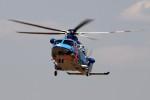 kaeru6006さんが、東京ヘリポートで撮影した警視庁 AW139の航空フォト(写真)