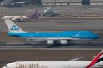 sg-driverさんが、香港国際空港で撮影したKLMオランダ航空 747-406Mの航空フォト(写真)