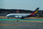 FRTさんが、成田国際空港で撮影したアシアナ航空 A380-841の航空フォト(飛行機 写真・画像)