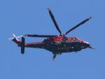 丸めがねさんが、東京ヘリポートで撮影した三井物産エアロスペース AW139の航空フォト(写真)