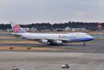 mojioさんが、成田国際空港で撮影したチャイナエアライン 747-409F/SCDの航空フォト(写真)