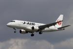 akinarin1989さんが、福岡空港で撮影したジェイ・エア ERJ-170-100 (ERJ-170STD)の航空フォト(写真)