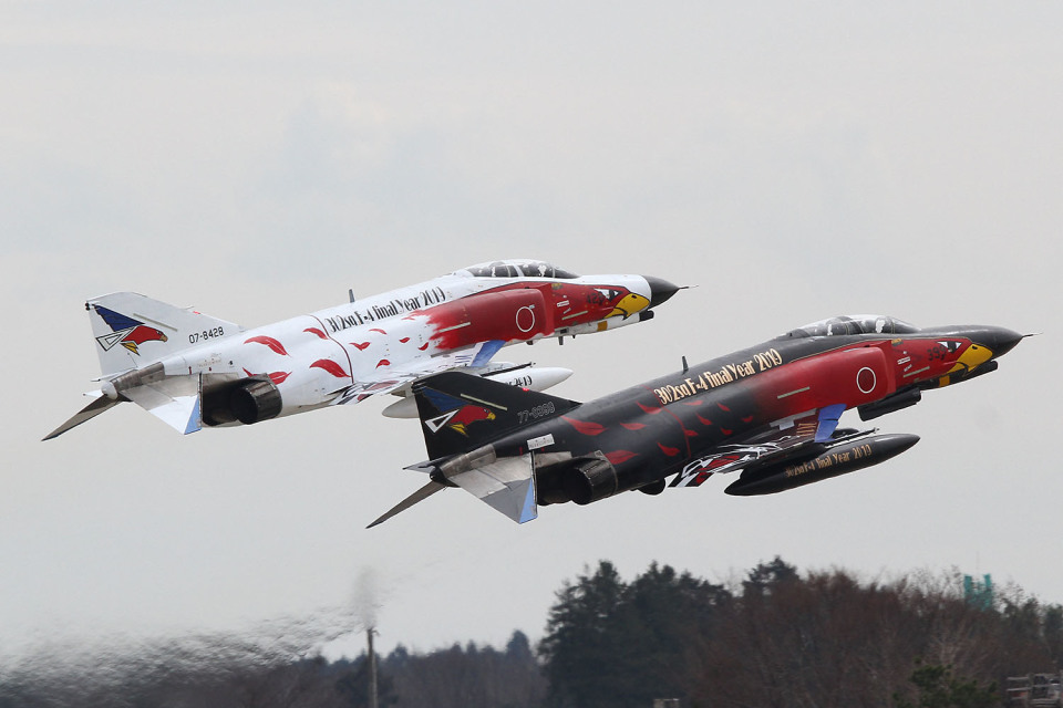 starry-imageさんの航空自衛隊 Mitsubishi F-4EJ Phantom II (07-8428) 航空フォト