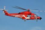 IL-18さんが、東京ヘリポートで撮影した東京消防庁航空隊 AW139の航空フォト(写真)
