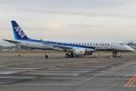 MOR1(新アカウント)さんが、名古屋飛行場で撮影した三菱航空機 MRJ90STDの航空フォト(飛行機 写真・画像)