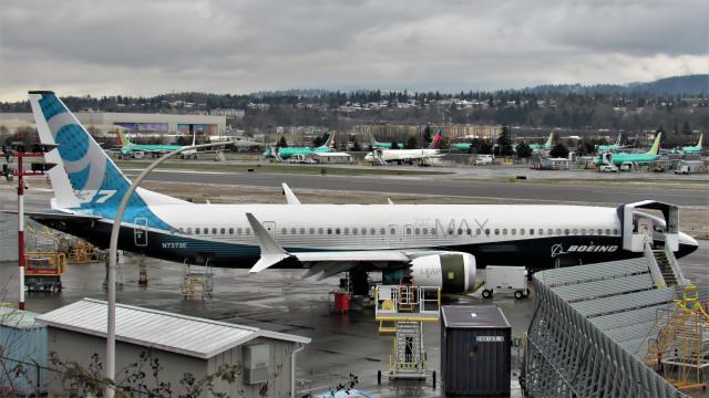 Ocean-Lightさんが、レントン市営空港で撮影したボーイング 737-9-MAXの航空フォト(飛行機 写真・画像)