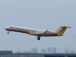 S51KAさんが、羽田空港で撮影したアメリカ企業所有 C-37B Gulfstream G550 (G-V-SP)の航空フォト(写真)