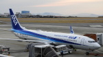 リンダさんが、松山空港で撮影した全日空 737-8ALの航空フォト(写真)
