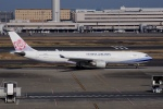 飛行機ゆうちゃんさんが、羽田空港で撮影したチャイナエアライン A330-302の航空フォト(写真)