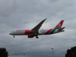 た~きゅんさんが、ロンドン・ヒースロー空港で撮影したケニア航空 787-8 Dreamlinerの航空フォト(写真)