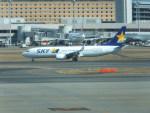 keitsamさんが、羽田空港で撮影したスカイマーク 737-8FHの航空フォト(写真)