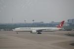keitsamさんが、上海浦東国際空港で撮影したターキッシュ・エアラインズ 777-3F2/ERの航空フォト(飛行機 写真・画像)