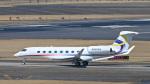 パンダさんが、成田国際空港で撮影したガルフストリーム・エアロスペース G650 (G-VI)の航空フォト(写真)