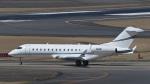 パンダさんが、成田国際空港で撮影したTPS LLC BD-700-1A10 Global Expressの航空フォト(写真)