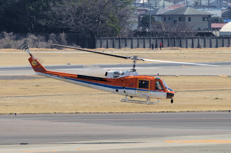 yabyanさんの新日本ヘリコプター Fuji 204/205 (JA9439) 航空フォト