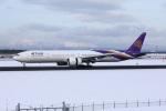 garrettさんが、新千歳空港で撮影したタイ国際航空 777-3AL/ERの航空フォト(写真)