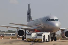 jjieさんが、プノンペン国際空港で撮影したジェットスター・アジア A320-232の航空フォト(飛行機 写真・画像)
