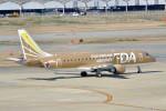 やまちゃんKさんが、福岡空港で撮影したフジドリームエアラインズ ERJ-170-200 (ERJ-175STD)の航空フォト(写真)