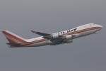 ぽんさんが、香港国際空港で撮影したカリッタ エア 747-4R7F/SCDの航空フォト(写真)