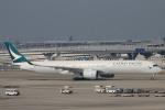 yasunori0624さんが、関西国際空港で撮影したキャセイパシフィック航空 A350-1041の航空フォト(写真)