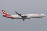 ぽんさんが、香港国際空港で撮影したモーリシャス航空 A340-313Xの航空フォト(写真)