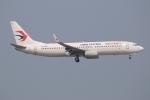 ぽんさんが、香港国際空港で撮影した中国東方航空 737-86Nの航空フォト(写真)