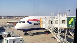 はまちのお寿司さんが、成田国際空港で撮影したブリティッシュ・エアウェイズ 787-9の航空フォト(写真)