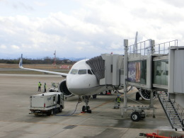 ヒロリンさんが、米子空港で撮影した全日空 A321-272Nの航空フォト(写真)