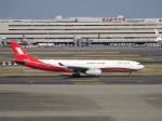 KAZFLYERさんが、羽田空港で撮影した上海航空 A330-343Xの航空フォト(飛行機 写真・画像)