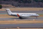 ぱん_くまさんが、成田国際空港で撮影した不明 Gulfstream G650ER (G-VI)の航空フォト(写真)