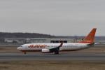シャークレットさんが、新千歳空港で撮影したチェジュ航空 737-8ASの航空フォト(写真)
