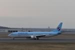 シャークレットさんが、新千歳空港で撮影した大韓航空 737-9B5の航空フォト(写真)