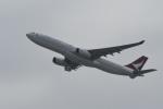 たっしーさんが、香港国際空港で撮影したキャセイドラゴン A330-343Xの航空フォト(写真)