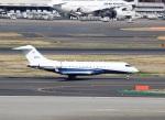 ハム太郎。さんが、羽田空港で撮影したユタ銀行 BD-700 Global Express/5000/6000の航空フォト(写真)
