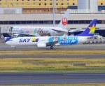 VICTER8929さんが、羽田空港で撮影したスカイマーク 737-86Nの航空フォト(写真)
