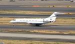 ハム太郎。さんが、羽田空港で撮影したアメリカ企業所有 BD-700 Global Express/5000/6000の航空フォト(写真)