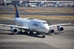 ふくかづさんが、羽田空港で撮影したルフトハンザドイツ航空 747-830の航空フォト(写真)