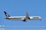 やまちゃんKさんが、福岡空港で撮影したシンガポール航空 787-10の航空フォト(写真)