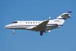PASSENGERさんが、ロサンゼルス国際空港で撮影したアメリカ個人所有 Hawker 800の航空フォト(写真)