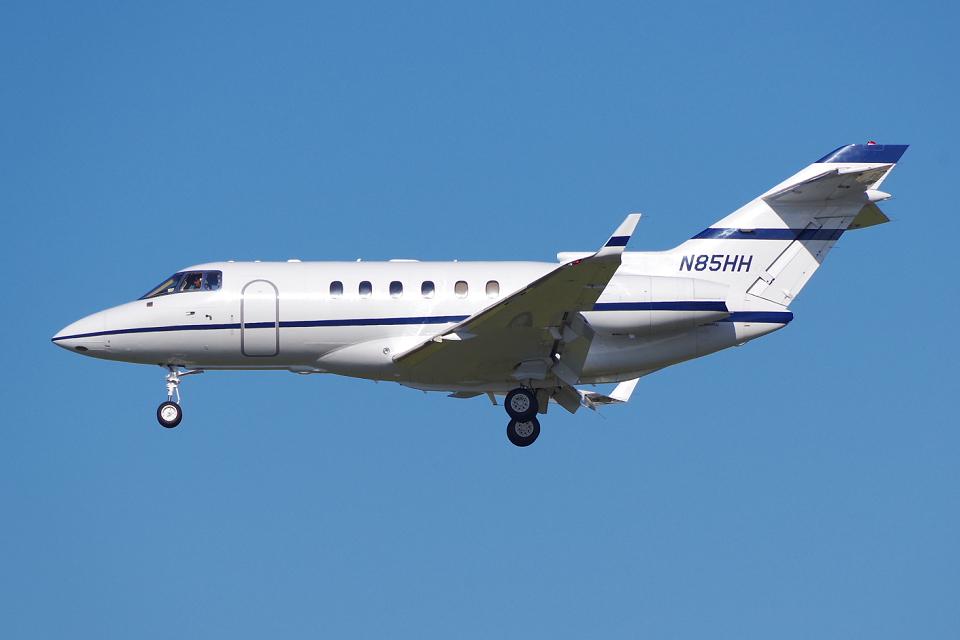 PASSENGERさんのアメリカ個人所有 Hawker 800/1000 (N85HH) 航空フォト